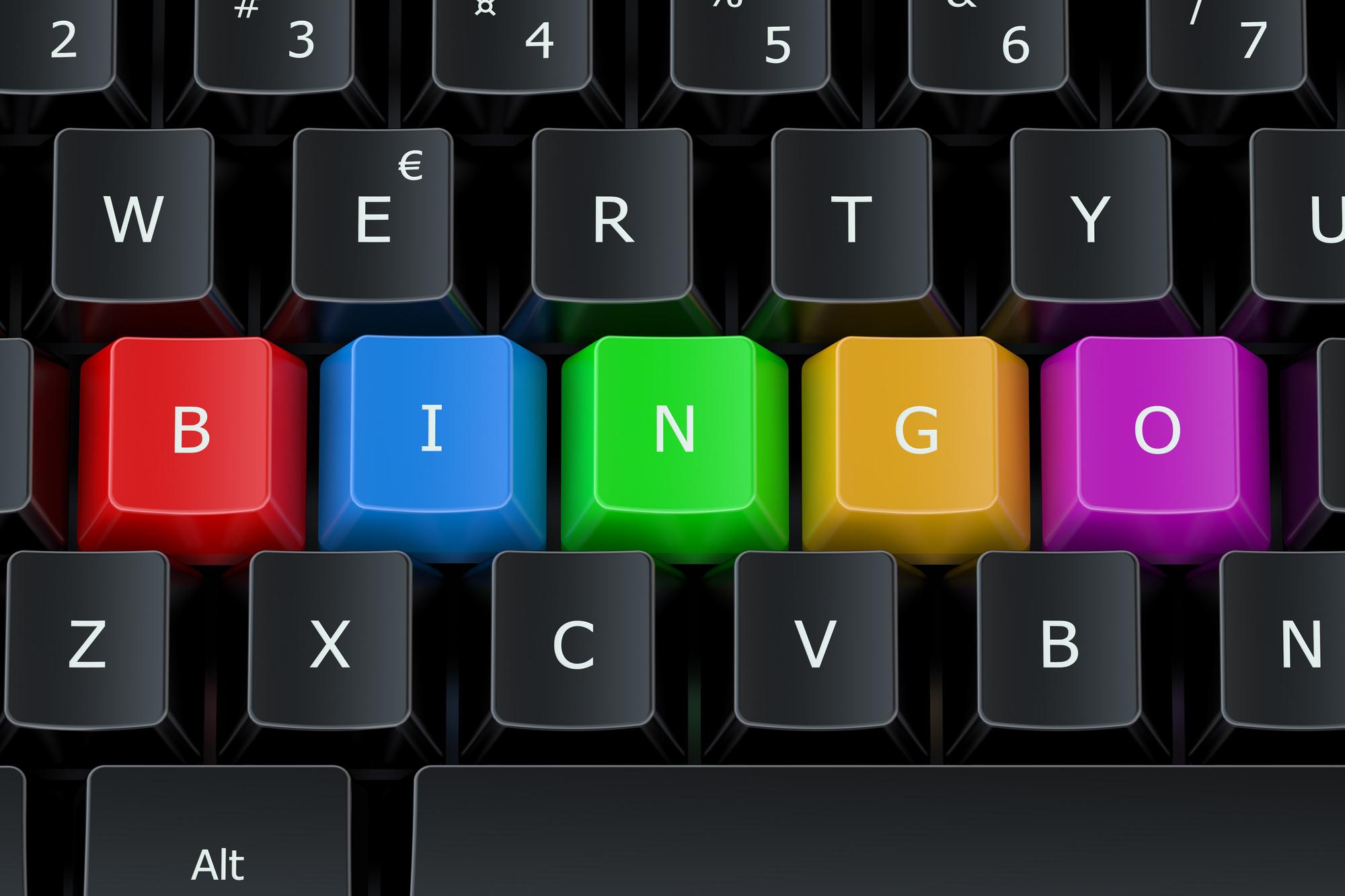 bingo on a computer